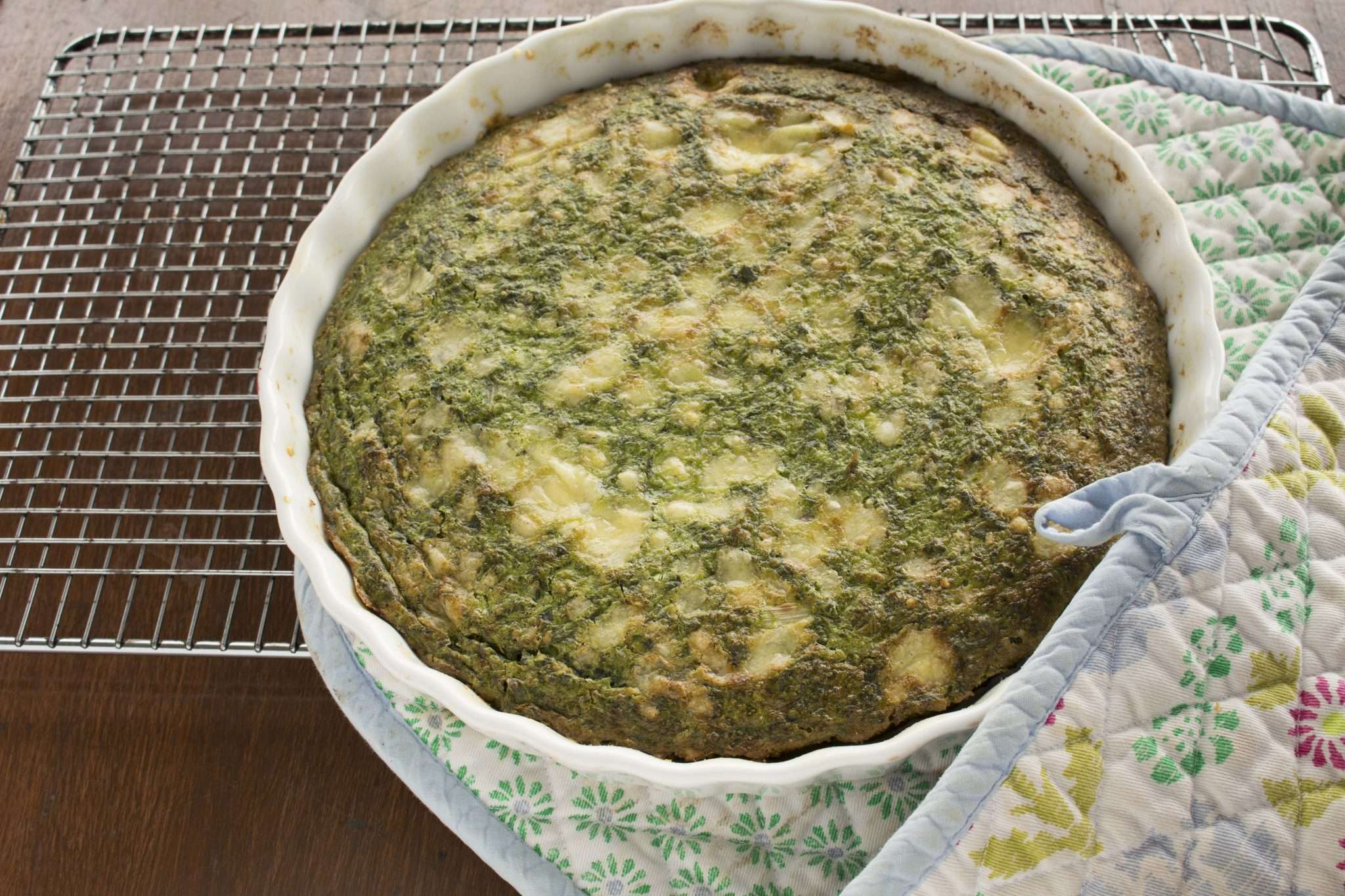 THERMIE GREEN QUICHE