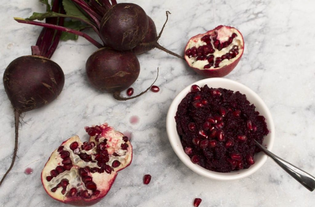 Roasted Beetroot & Pomegranate Dip/Relish