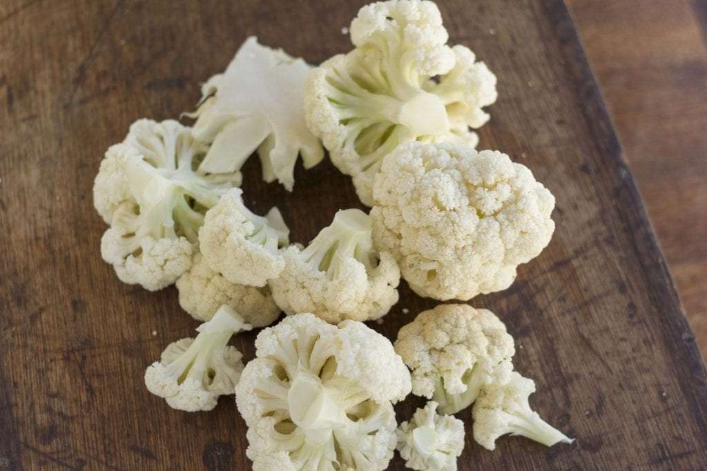 Cauliflower floretts