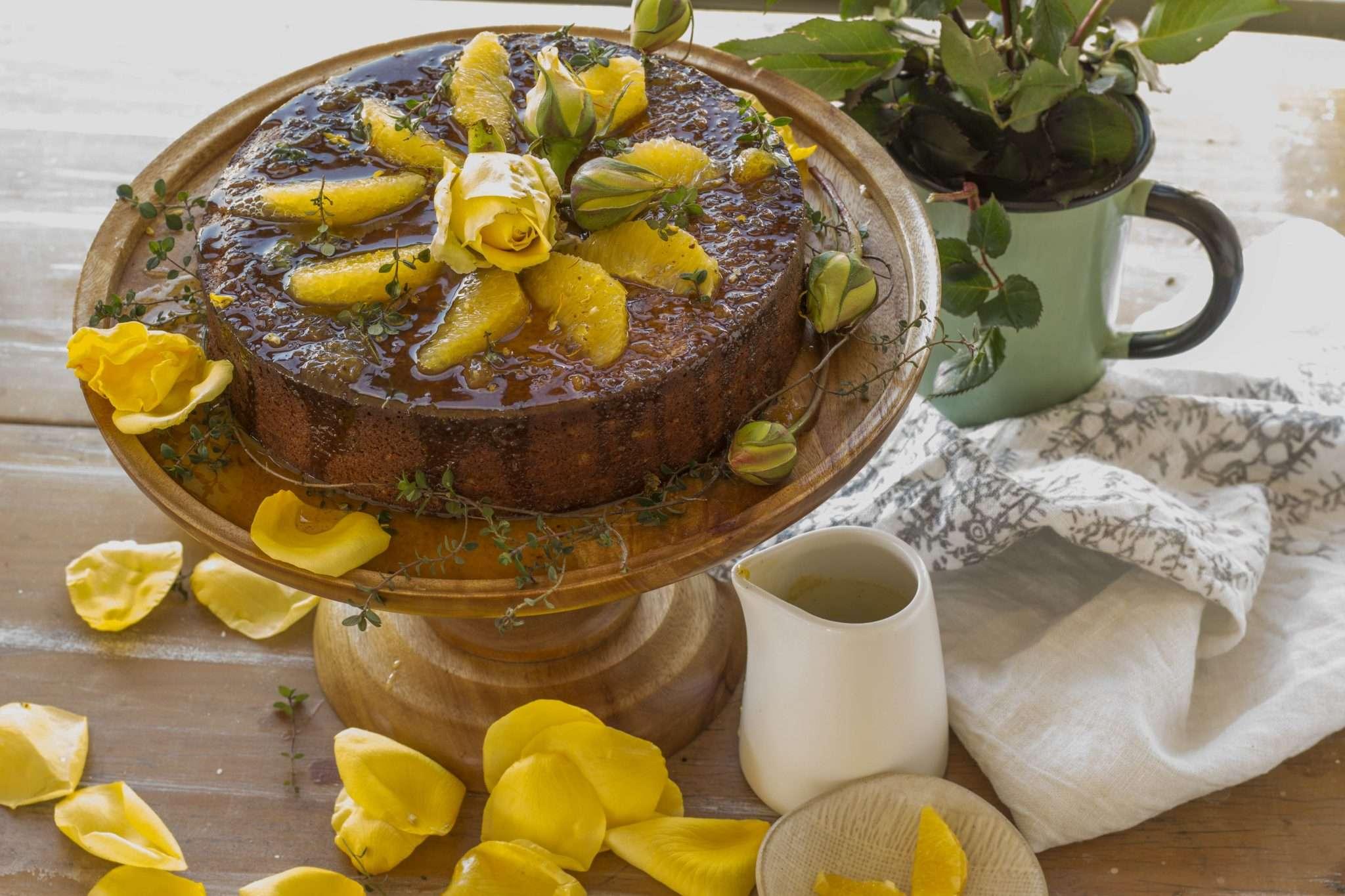 Whole Orange Almond Amp Vanilla Cake Arwen S Thermo Pics