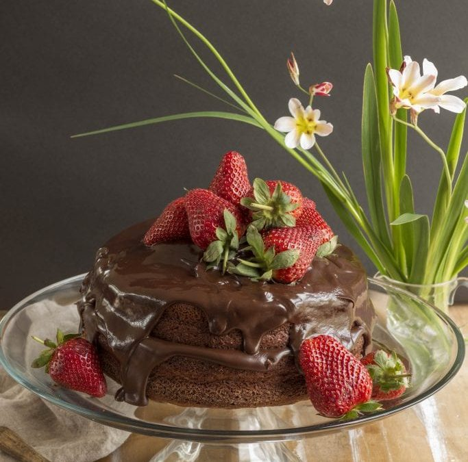 Elaine's Chocolate Cake