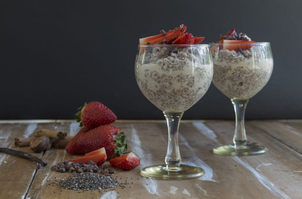 Vanilla Chia Puddings