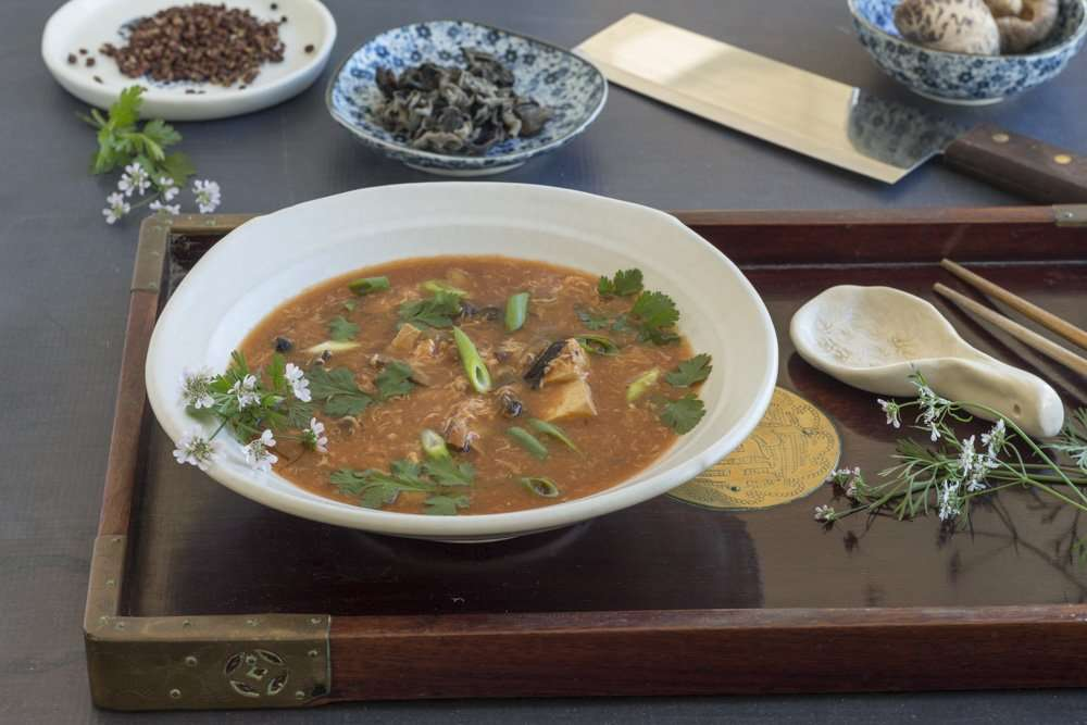 Sally Ives Hot & Sour Soup