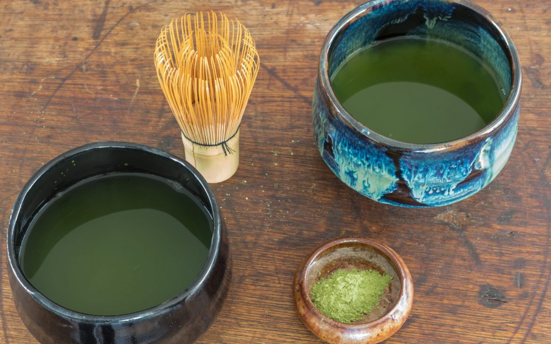 Making Matcha Tea