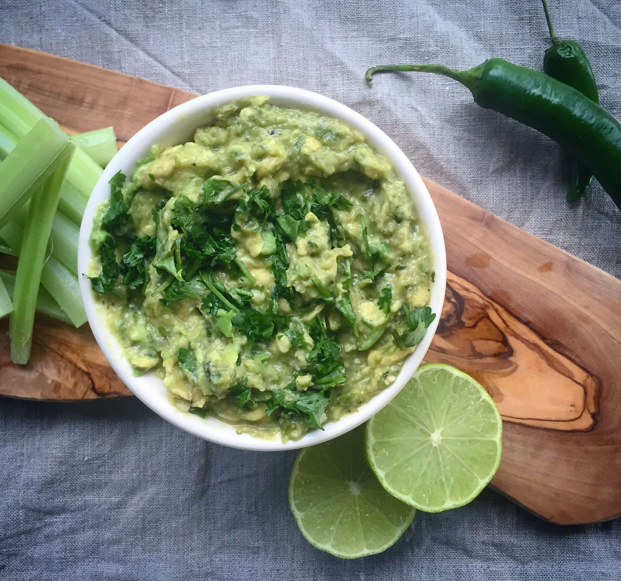 Thermie Green Avocado Dip
