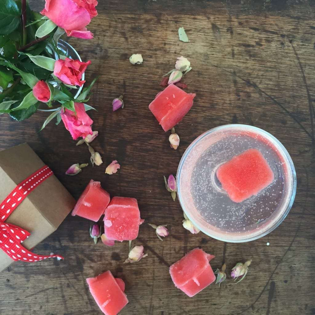 Strawberry & Rosewater Sorbet