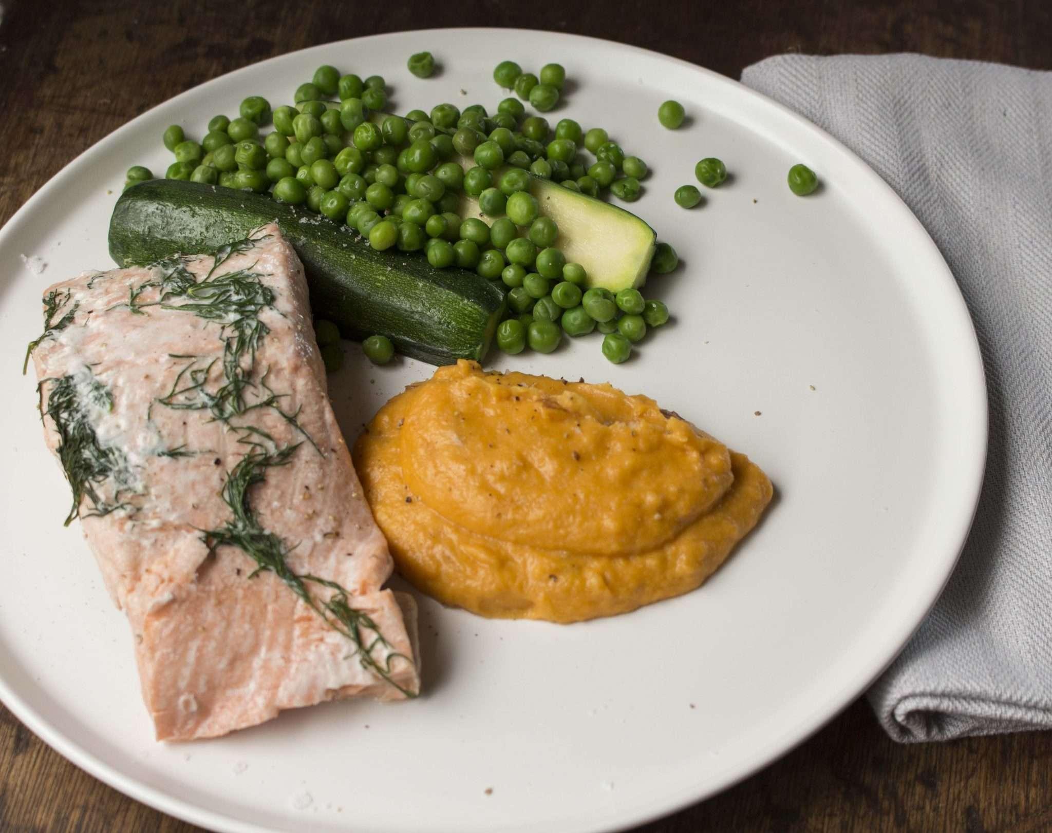 Favourite Salmon dinner