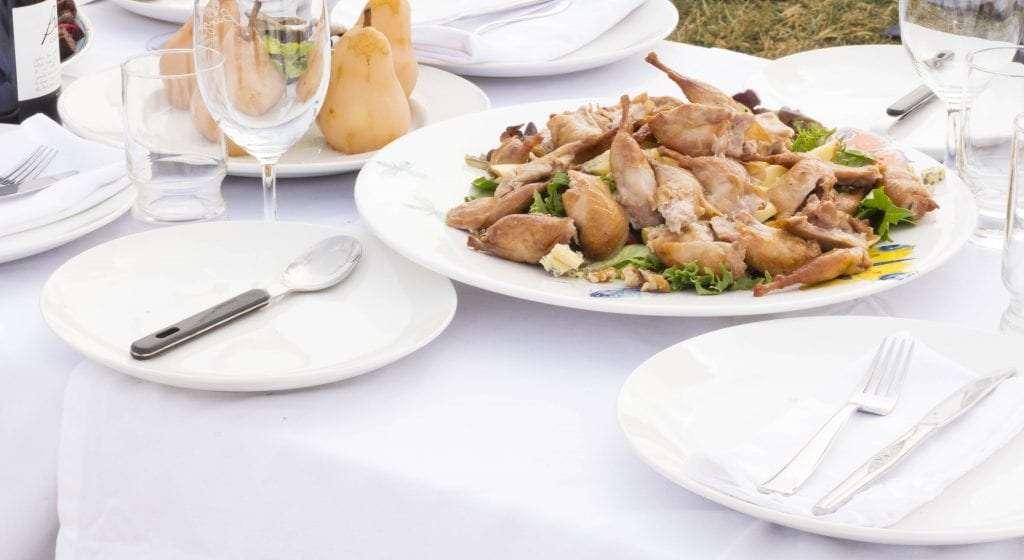 quail salad
