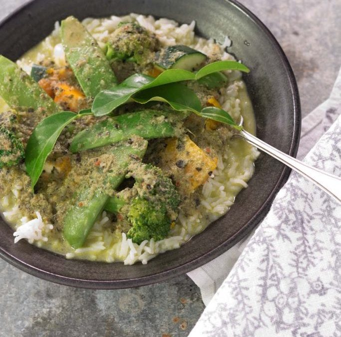 Thermie Green Vegetarian Curry