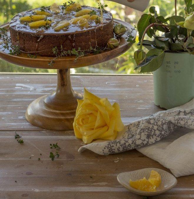 Whole Orange Almond & Vanilla Cake