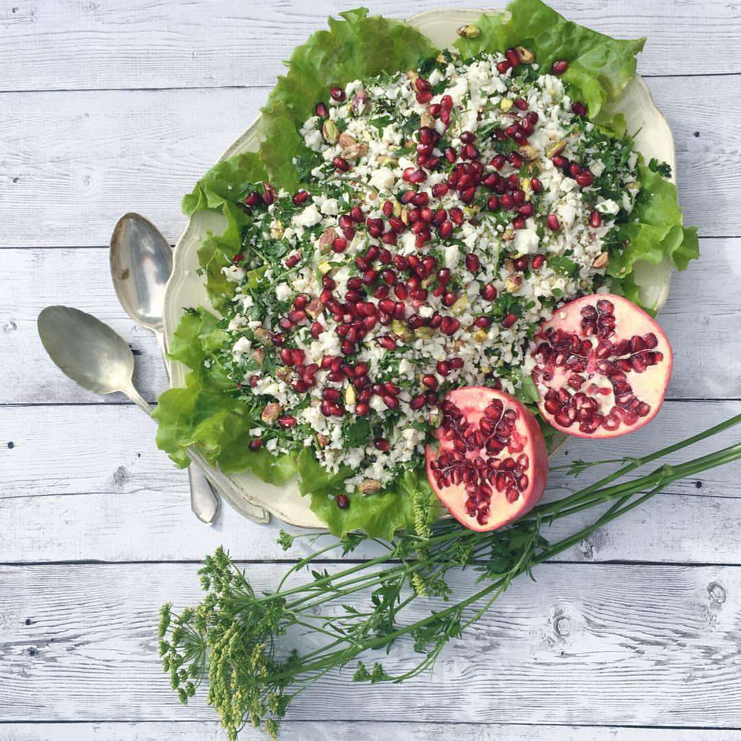 Festive Cauliflower Salad