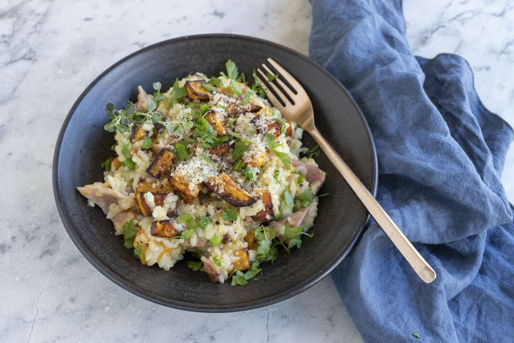 Arwen's Thermo Pics | Hobart Thermomix Consultant - Pumpkin Risotto with Bacon