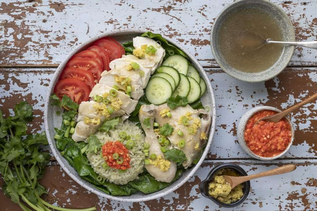 Arwen's Thermo Pics | Hobart Thermomix Consultant - Hainanese Chicken Rice