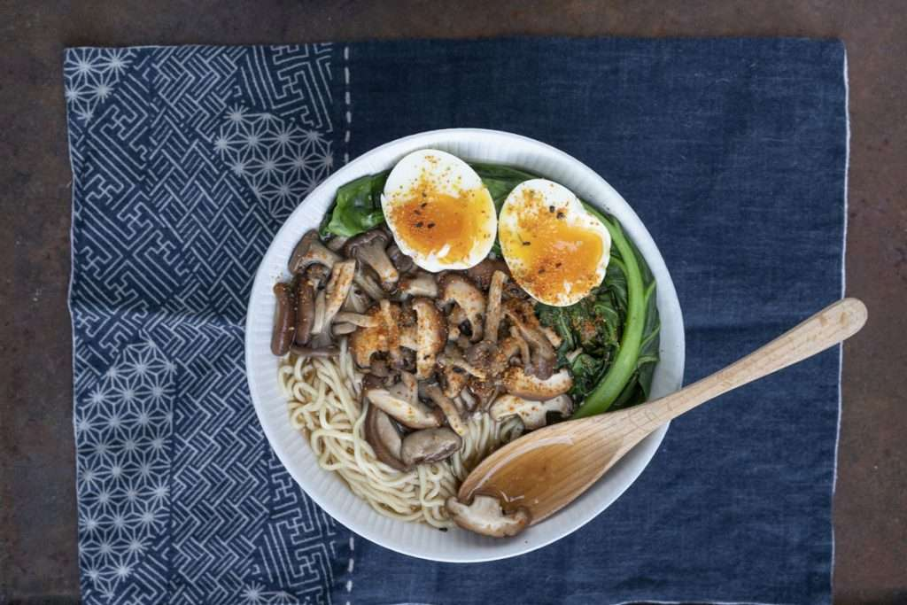 Arwen's Thermo Pics | Hobart Thermomix Consultant - Mushroom & Miso Ramen