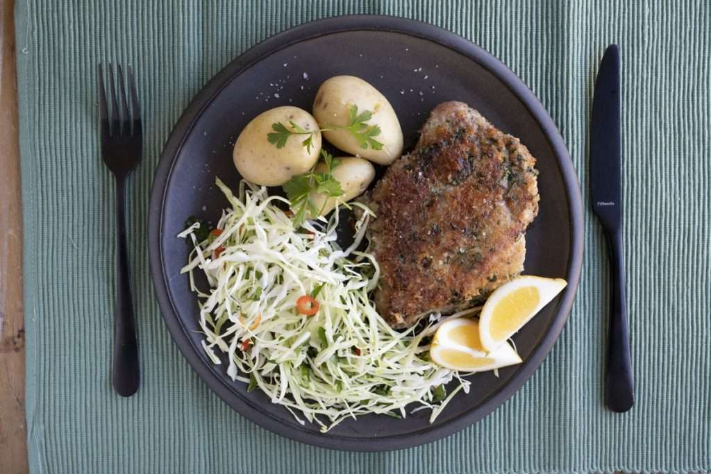 Arwen's Thermo Pics | Hobart Thermomix Consultant - Pork Milanese