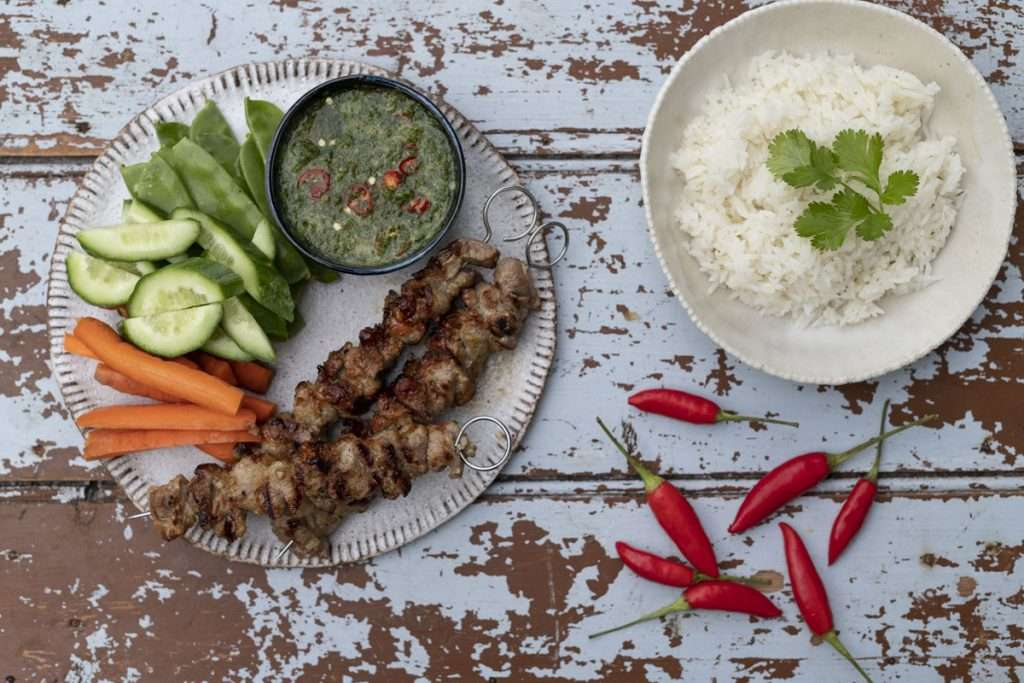 Arwen's Thermo Pics | Hobart Thermomix Consultant - Grilled Pork Skewers