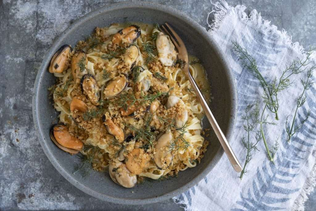 Arwen's Thermo Pics | Hobart Thermomix Consultant | Mussel Butter Tagliatelle