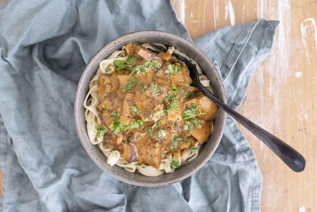 Arwen's Thermo Pics | Hobart Thermomix Consultant - Mushroom Stroganoff