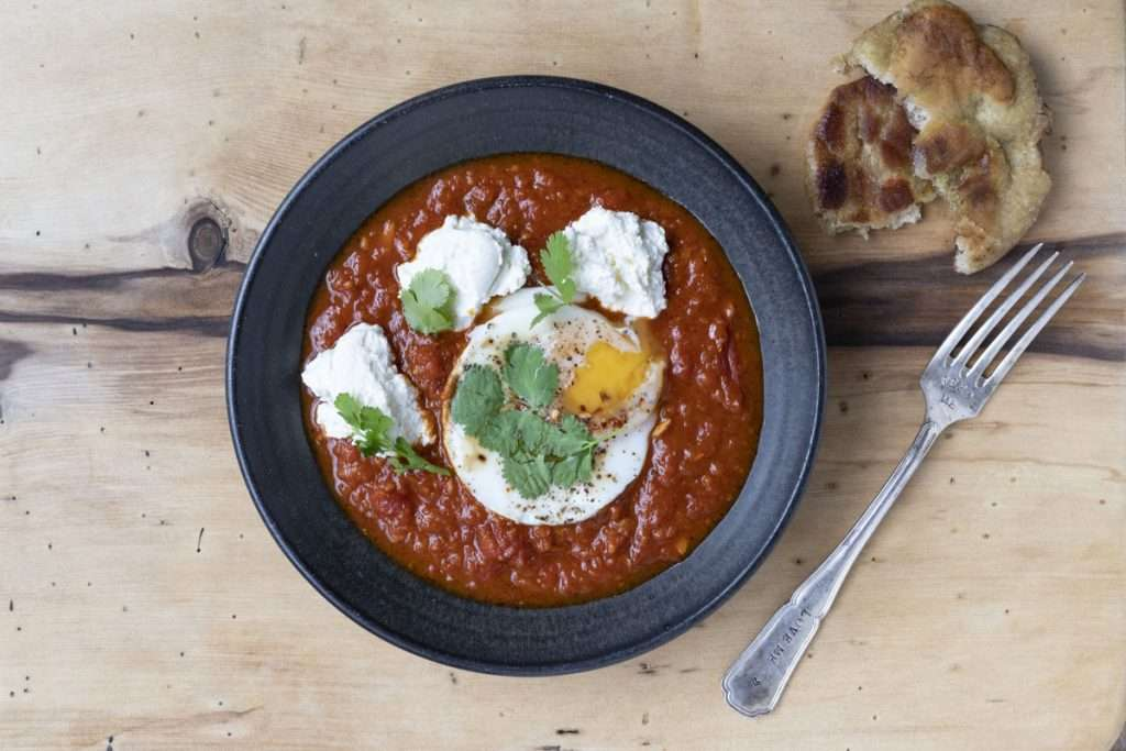Arwen's Thermo Pics | Hobart Thermomix Consultant - Spicy Eggs with Tomato Sauce