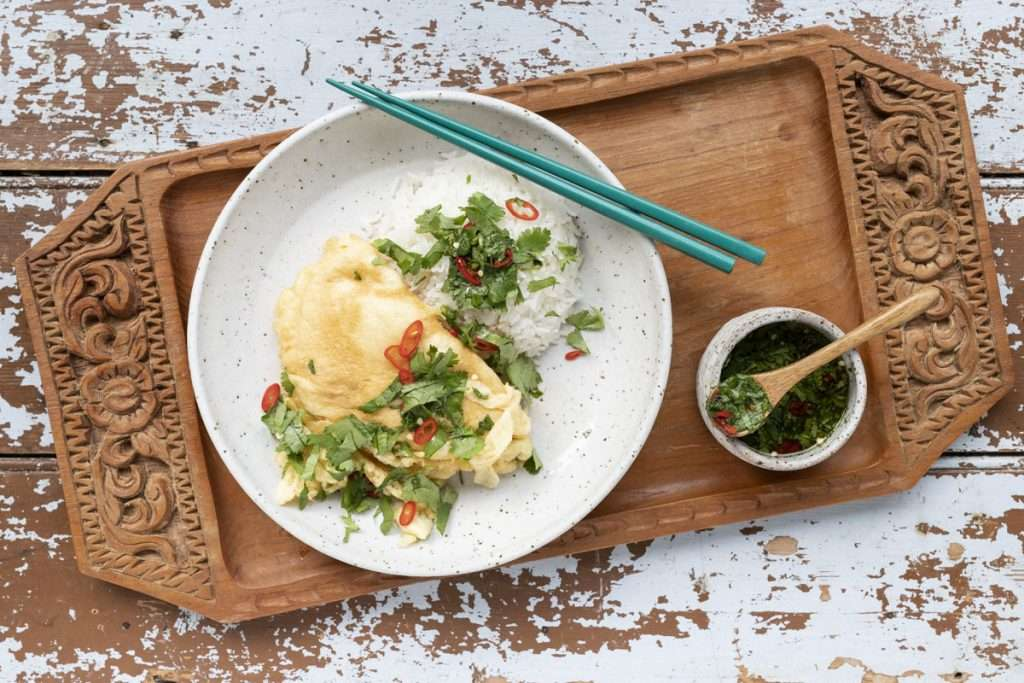 Arwen's Thermo Pics | Hobart Thermomix Consultant - Thai-style Omelette