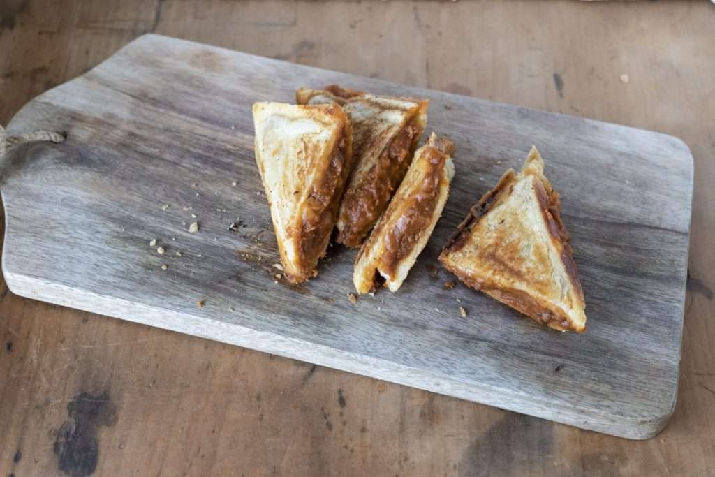 Arwen's Thermo Pics | Hobart Thermomix Consultant - Baked Bean Jaffle