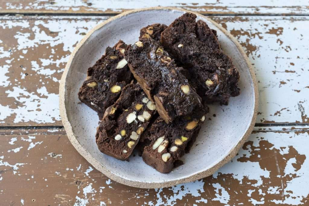 Arwen's Thermo Pics | Hobart Thermomix Consultant - Dark Chocolate & Nut Brownie