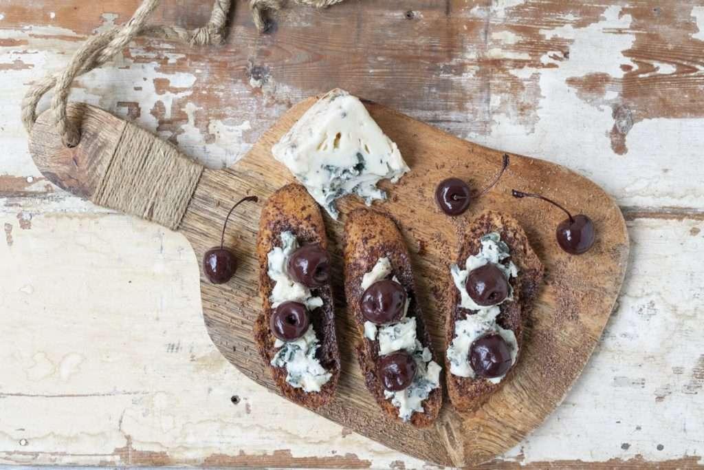 Arwen's Thermo Pics | Hobart Thermomix Consultant - Dark Chocolate, Roquefort & Vanilla Cherries