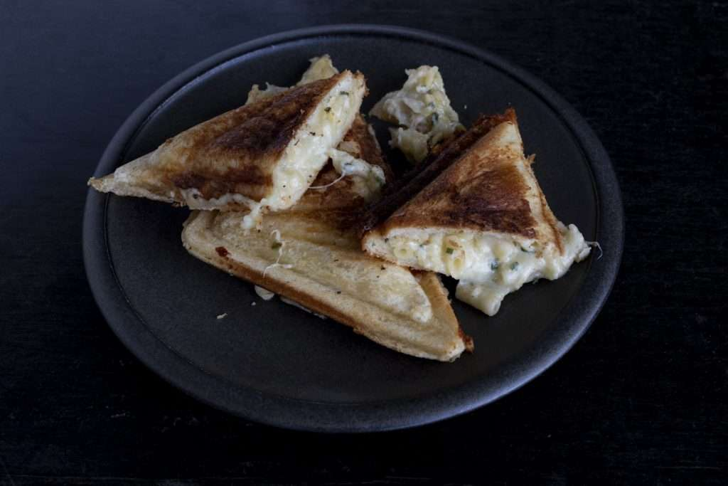 Arwen's Thermo Pics | Hobart Thermomix Consultant - Mac & Cheese Jaffle