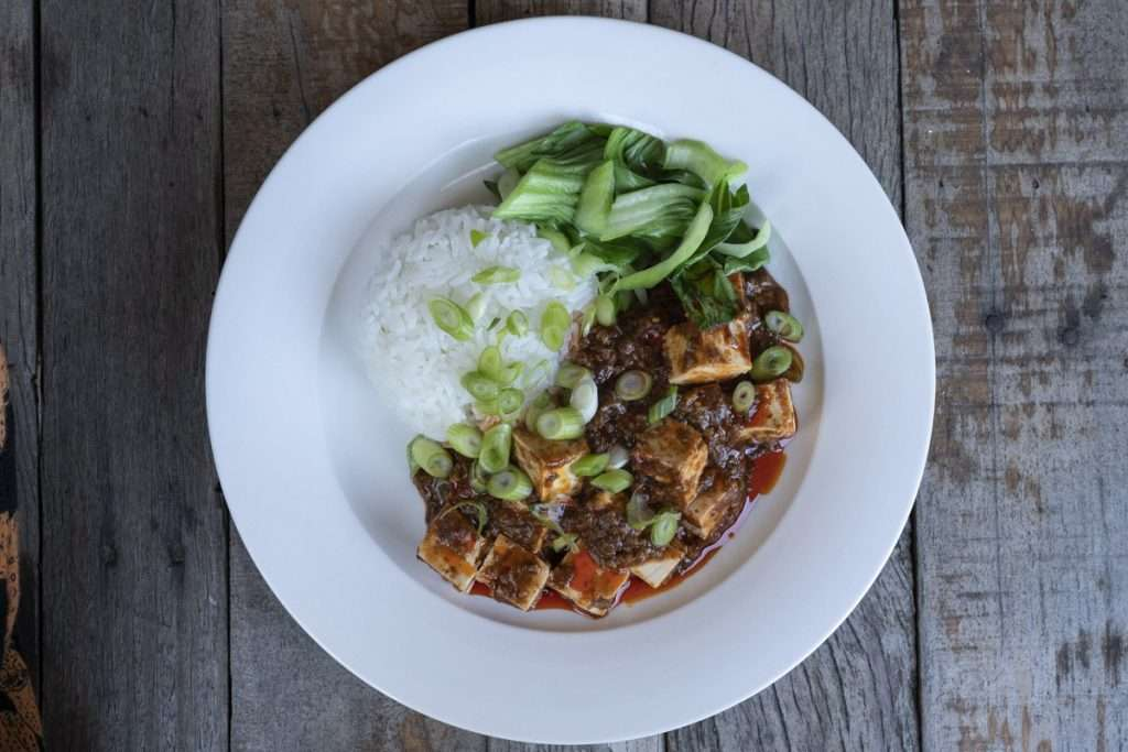 Arwen's Thermo Pics | Hobart Thermomix Consultant - Sichuan Tofu in Mapo Sauce
