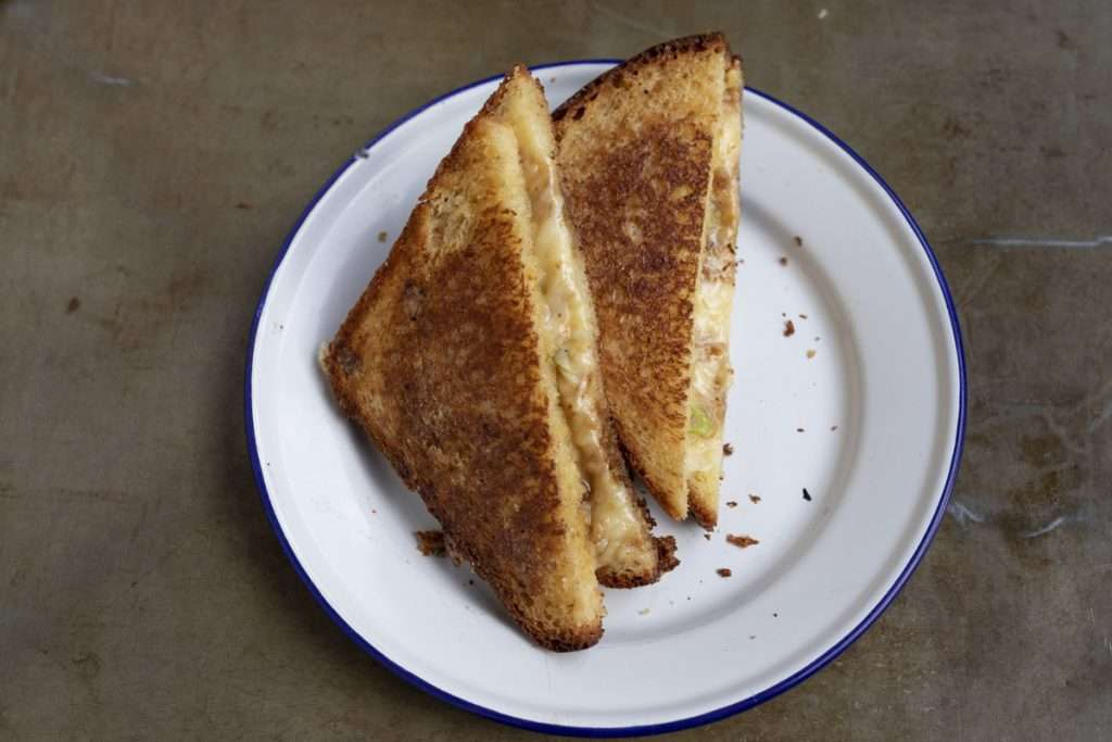 Arwen's Thermo Pics | Hobart Thermomix Consultant - Comforting Old-school Cheese Toastie