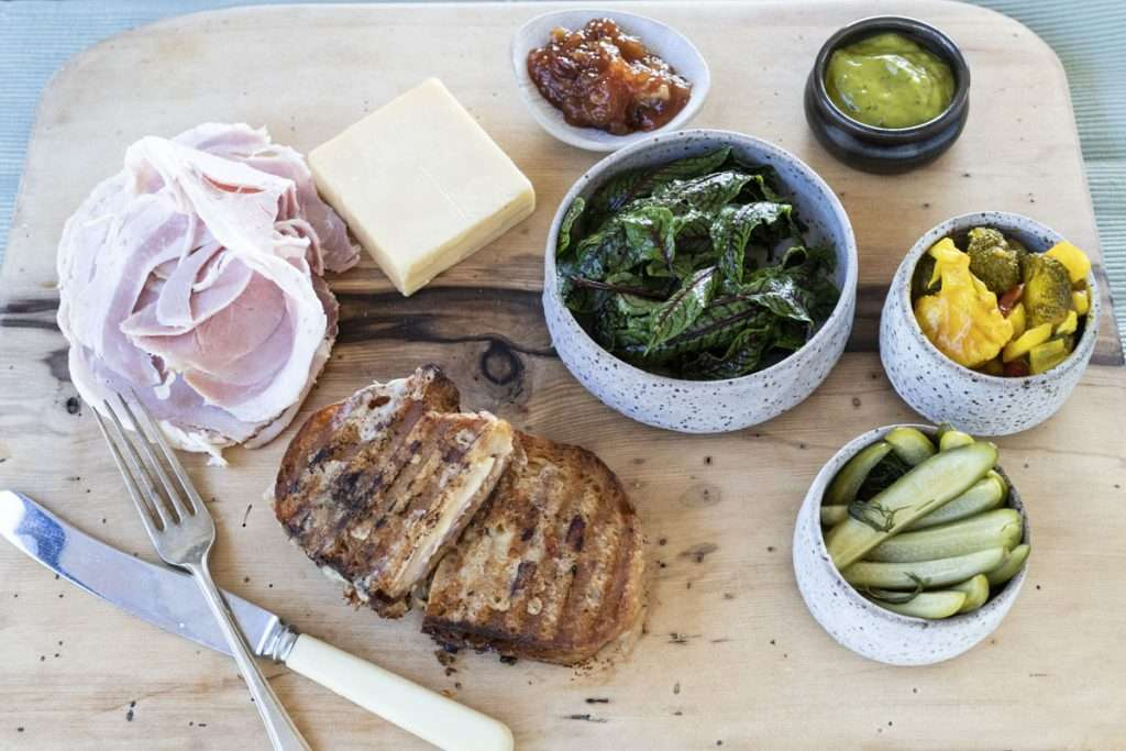 Arwen's Thermo Pics | Hobart Thermomix Consultant - Ploughmans: Ham, Cheddar & Chutney