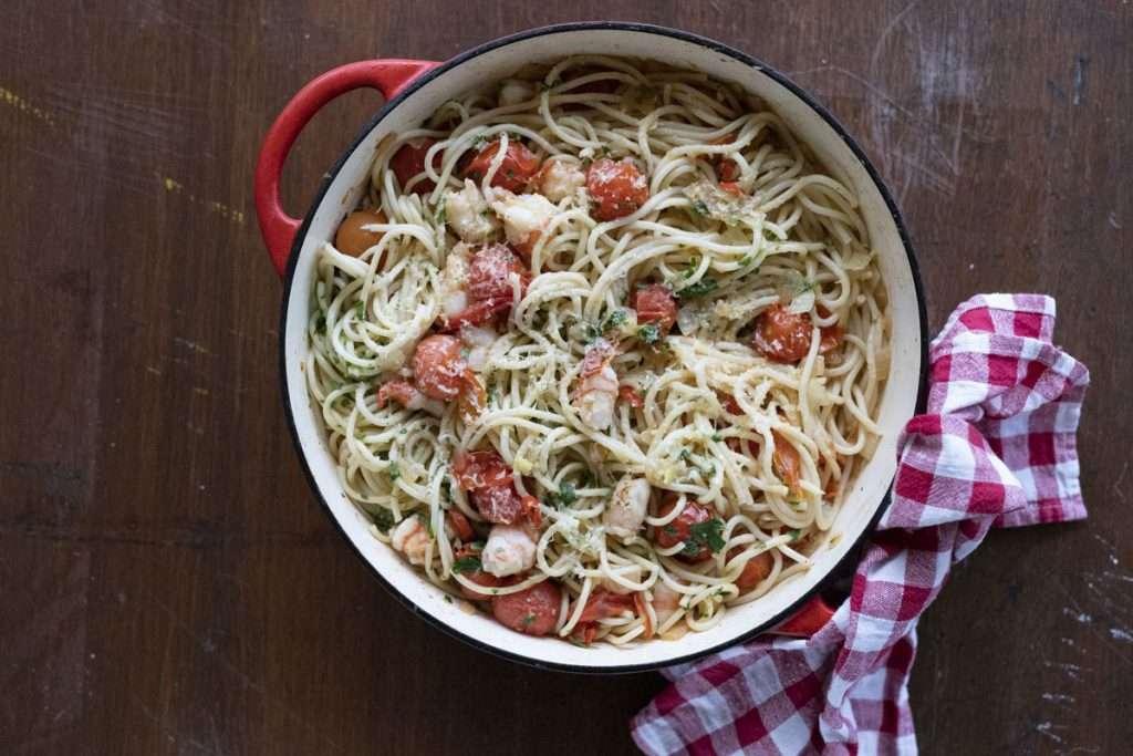 Arwen's Thermo Pics | Hobart Thermomix Consultant - Tomato, Chilli & Prawn Spaghetti