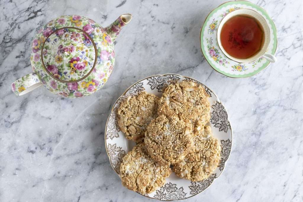 Arwen's Thermo Pics | Hobart Thermomix Consultant - Coconut, Quinoa & White Chocolate Chip Cookies