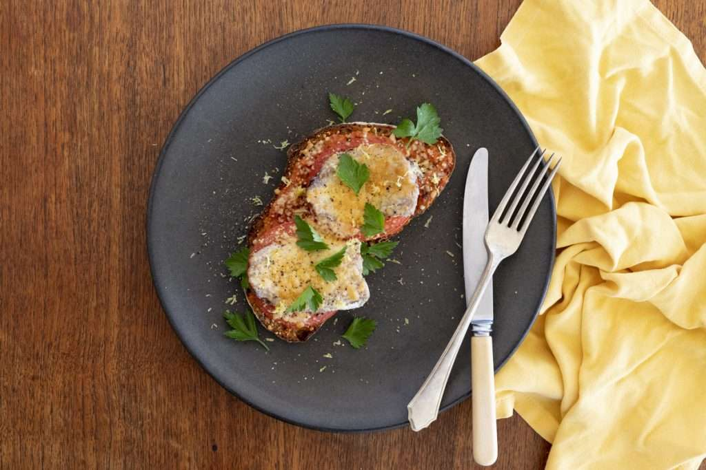 Arwen's Thermo Pics | Hobart Thermomix Consultant - Grilled Sardines on Toast with Romesco Sauce & Parmesan