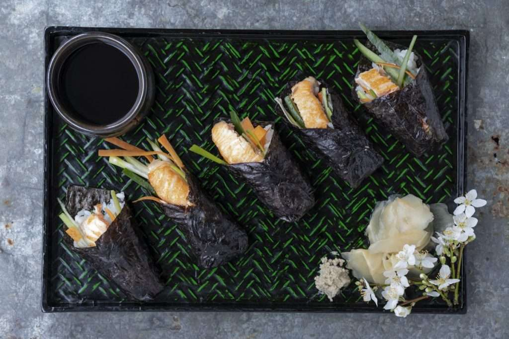 Arwen's Thermo Pics | Hobart Thermomix Consultant - Temaki Sushi (Hand Roll)