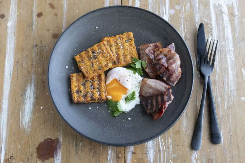 Arwen's Thermo Pics | Hobart Thermomix Consultant - Scuba's Sweet Potato Hash Browns