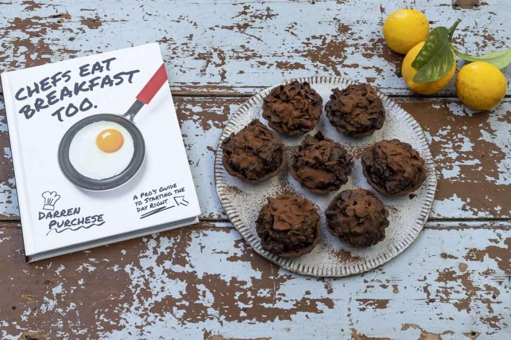 Arwen's Thermo Pics | Hobart Thermomix Consultant - Chocolate, Yoghurt & Lemon Cornflake Tarts