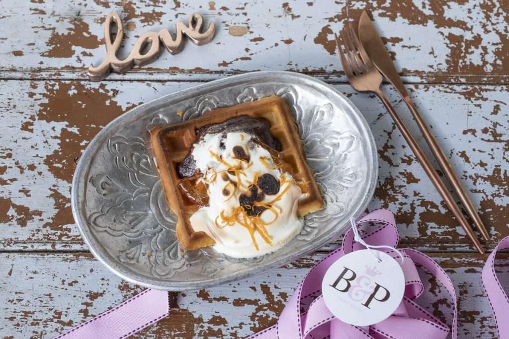 Arwen's Thermo Pics | Hobart Thermomix Consultant - Dark Chocolate & Orange Marshmallow Waffle