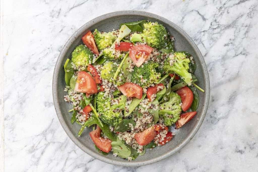 Arwen's Thermo Pics | Hobart Thermomix Consultant - Quinoa, Broccoli & Tomato Salad